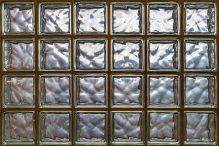 Glass block wall pattern Reklamní fotografie