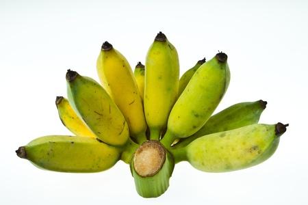 Ripe banana on isolated white Stock Photo - 15364479