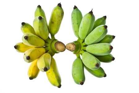 banana peel: Couple of banana Stock Photo