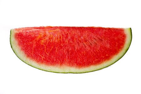 black seed: A part of Water mellon with out black seed Stock Photo