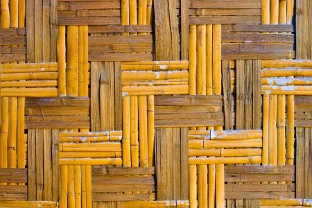 Bamboo mat photo