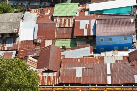 slum in the big city
