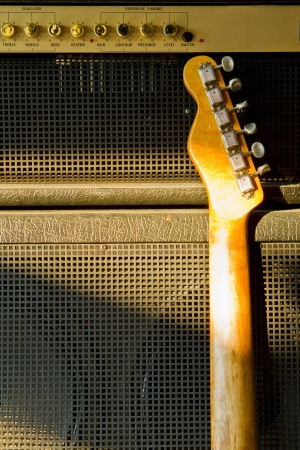 amp: Telecaster guitar model and combo amplifier
