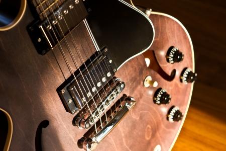 Semi hollow body guitar model es 335