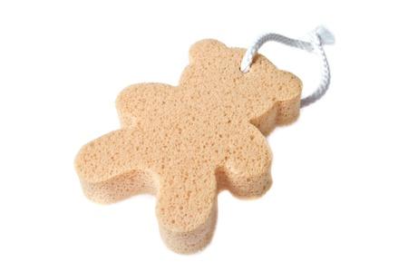 Bear sponge Stock Photo