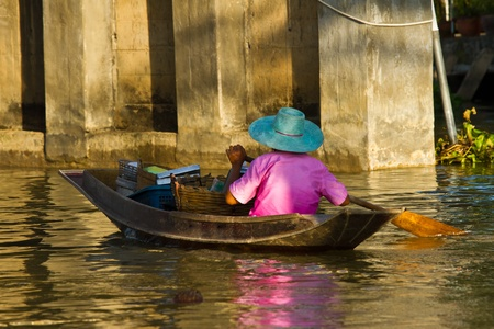indo china: Waterfront life in Thailand