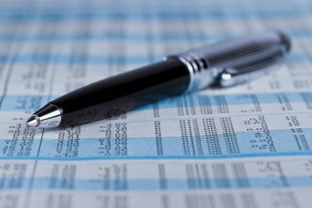 Pen on SET index report