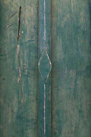 Ancient Thai style wooden sculpture door