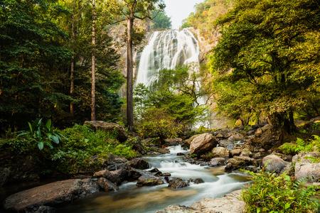 klong: Klong Lan waterfall, National park in Northern of Thailand
