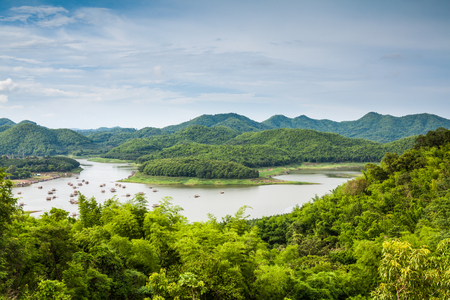 Huay Krating at Leoi, lake in northeast of Thailand