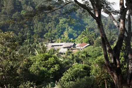 Small village of highlander, Northern of thailand