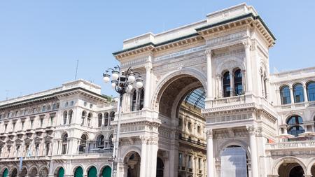 vittorio emanuele square pisa, Milan, Italy