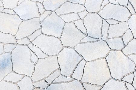 White stone floor texture background Stock Photo