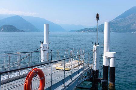como: Varenna pier,  ferry to como