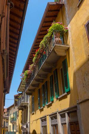 Ancient building at, Bellagio, Como lake, Italy