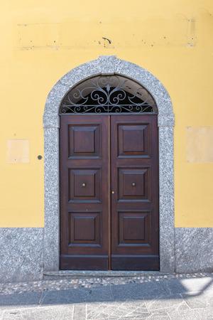 Front door at Bellagio como house
