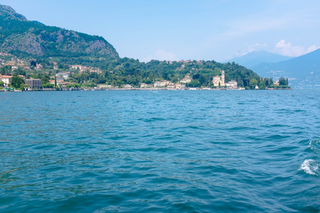 Small village of Bellagio, Lake Como, Italy Stock Photo