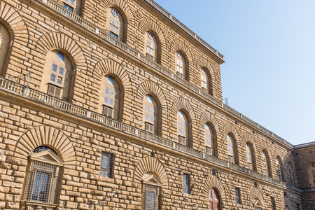 Palazzo Pitti, The  old palace of Medici family at Florence, Italy