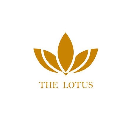 Lotus Logo, Fiore di loto logo, Bellezza logo, Moda logo, marchio di vettore Modello