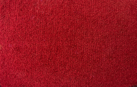 red fabric fluffy machine Shoe rug with pile textured pattern textured collection otherreferats concept background fabric business Imagens