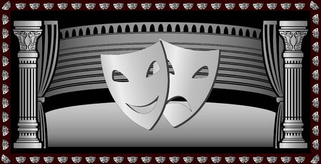 theatre background for web. Stock Vector - 6015118
