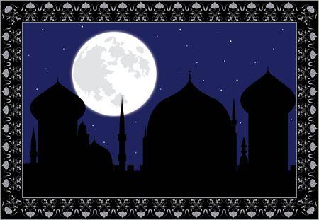 arabic night. verctor illustration for design Stock Vector - 6800238