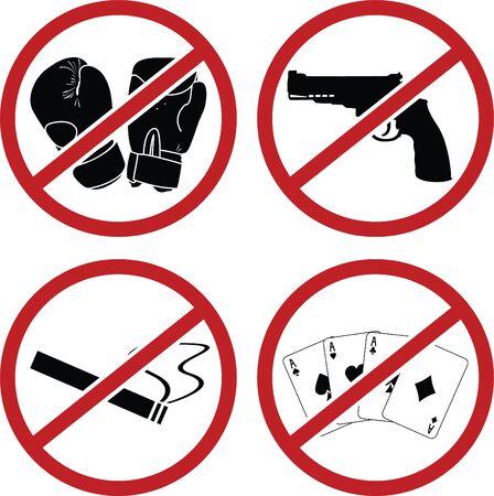 signos de precaucion: signos de advertencia para los lugares p�blicos