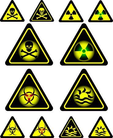 oxidising: signos de peligro.