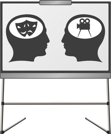 theather: art brains of a man
