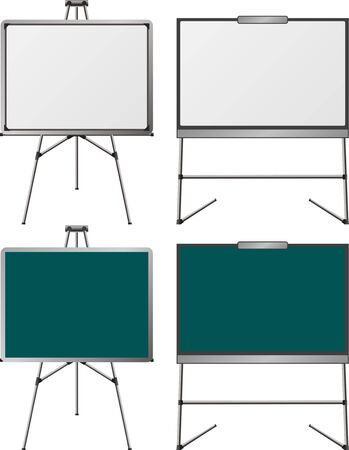 variant: set of easels. first variant