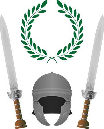 cascos romanos: Gloria romana. cuarta variante