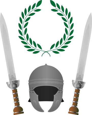 roman glory. fourth variant Stock Vector - 8976608