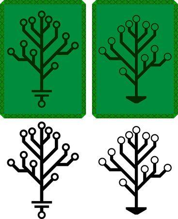 arbre électronique