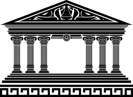 templo romano: la fantasía del templo. quinta variante.