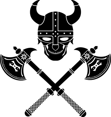 skull of the warrior. first variant