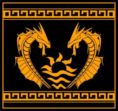 celtic mythology: Dragons and sunshine