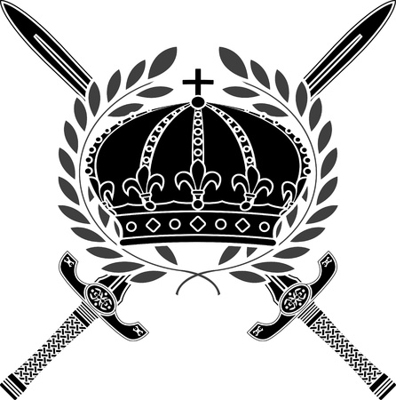 glory of empire  stencil Vector