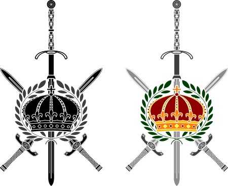 glory: glory of empire  stencil  second variant  vector illustration