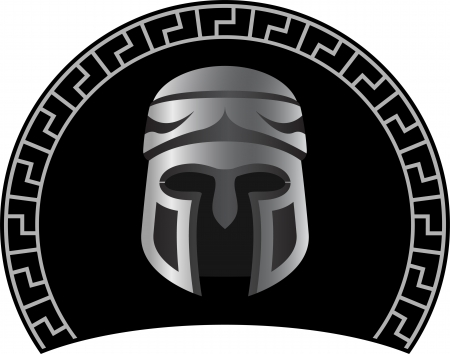 civilizations: medieval helmet  first variant  vector illustration Illustration