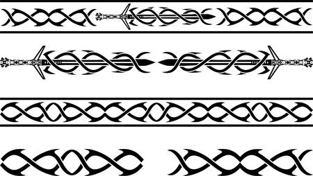 vikingo: dibujo de fantasia vikingos plantilla ilustración vectorial