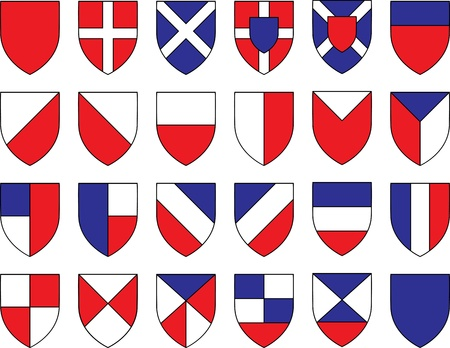 knighthood: divisions of the shield  illustration