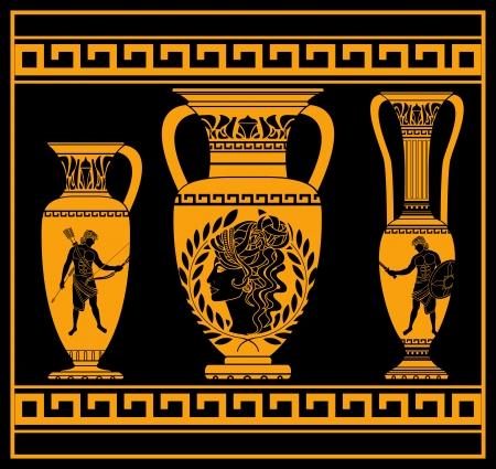 cruches helléniques deuxième variante illustration