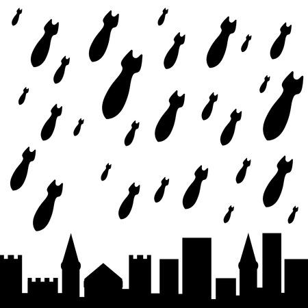 military rain  second variant  vector illustration  Illustration