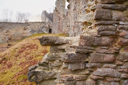 fortification: old wall
