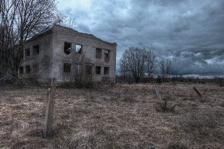 House Ruins In Haapsalu City Estonia Stock Photo Picture And