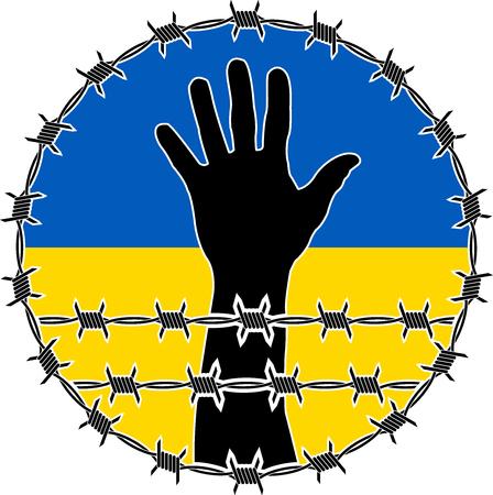violation: violación de los derechos humanos en Ucrania. versión de la trama