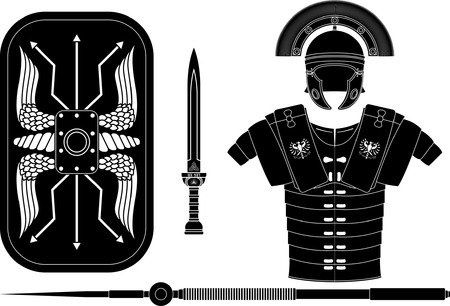 Römischen Rüstung Standard-Bild - 46050811