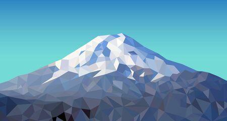 富士の山  イラスト・ベクター素材