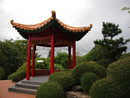 Typical Chinese Garden photo