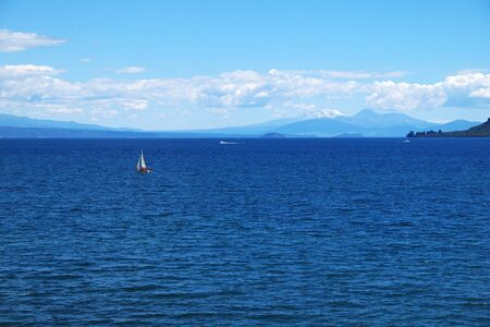 Taupo lake photo